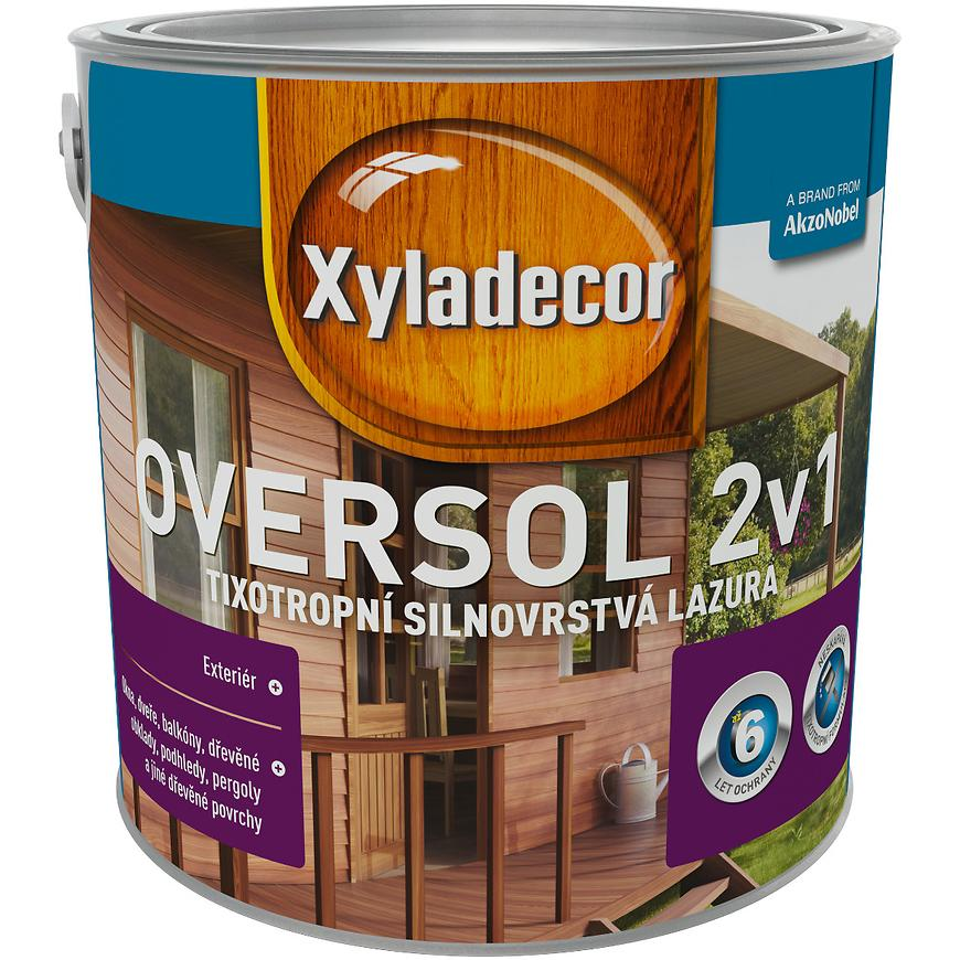 Xyladecor Oversol bílý krycí 2,5L
