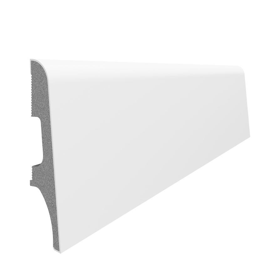 Podlahová lišta Espumo ESP 101 bílá