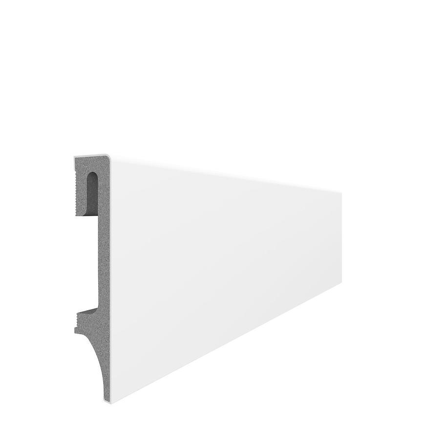 Podlahová lišta Espumo ESP 201 bílá