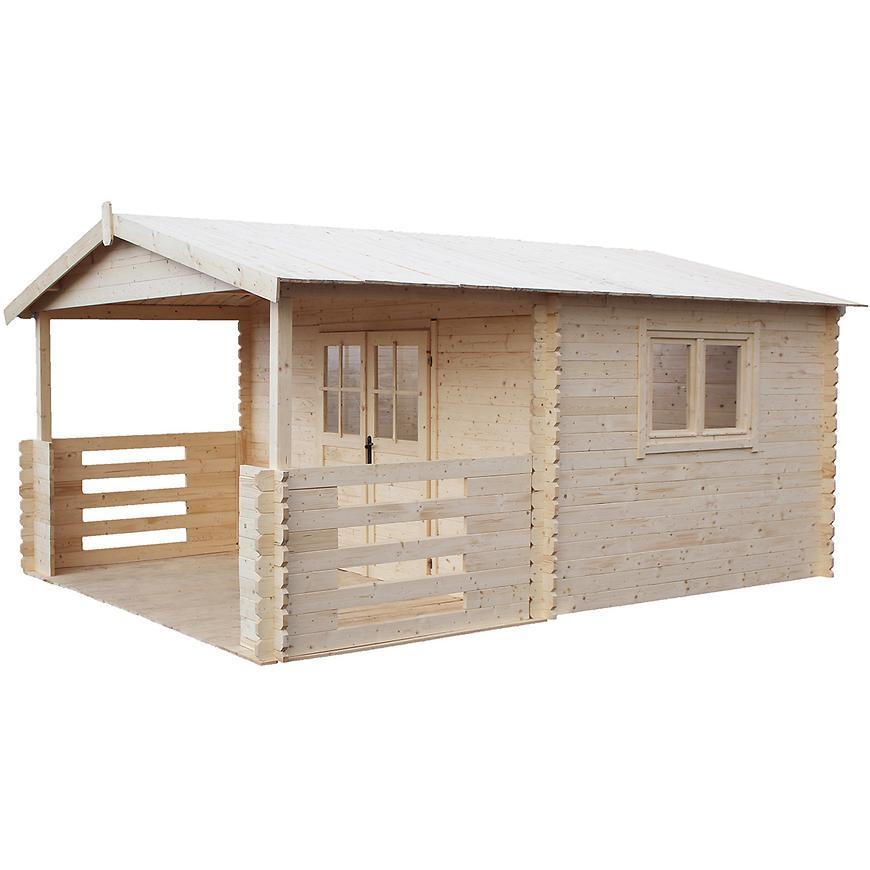 Domeček Heidi 4x4m + terasa 4x2m
