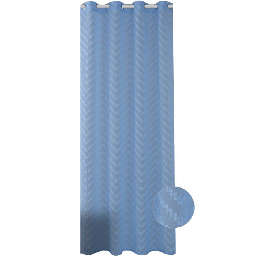 Závěs NEFRYT 140X250 19754 modrá