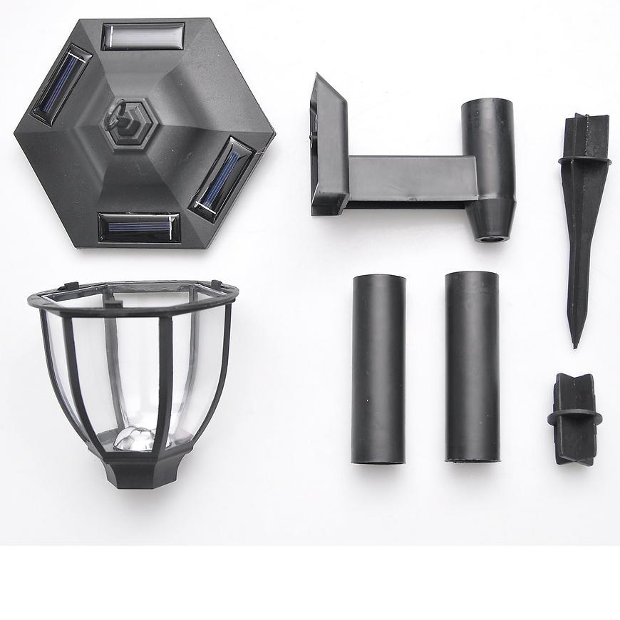 Solární osvětlení 1 LED BY-131584 lucerna