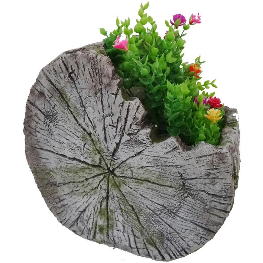 Dřevěný květináč UA18536A