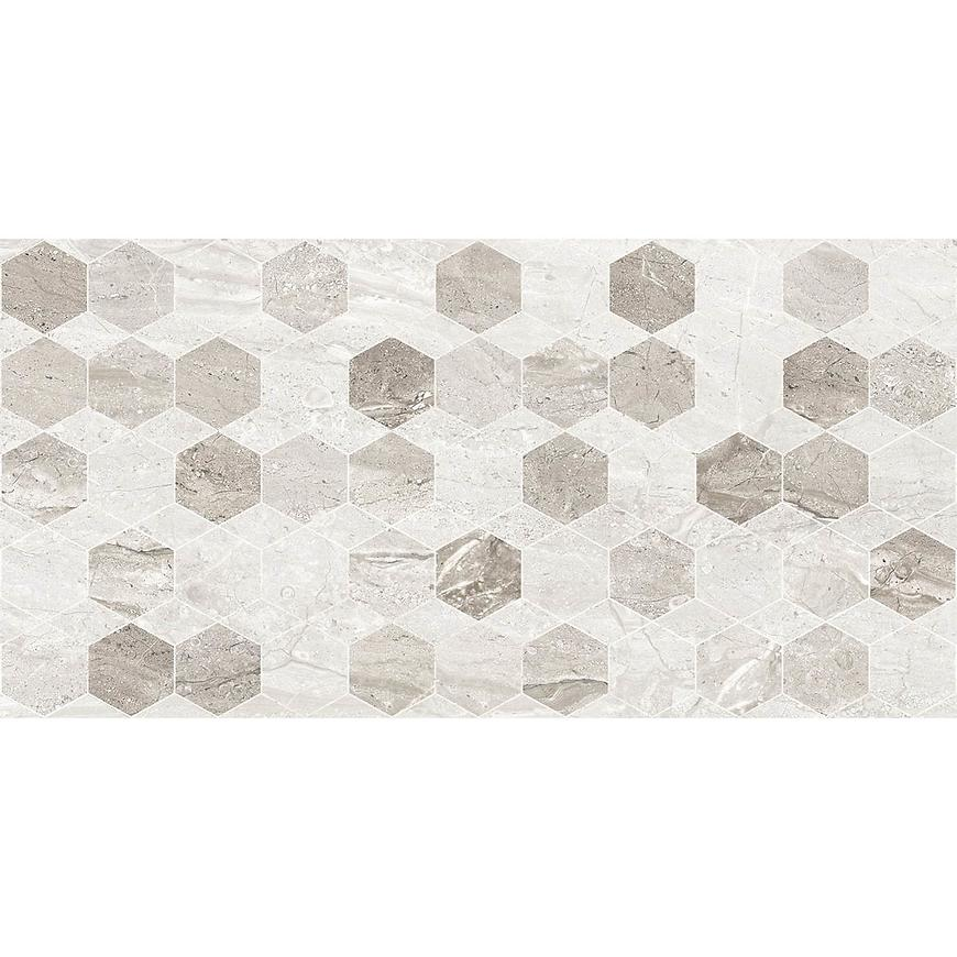 Dekor Marmo Milano Hexagon Light Grey 30/60