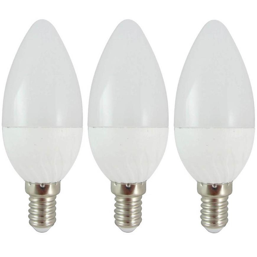 Žárovky LED (3-PACK) C35 6W E14 2700K