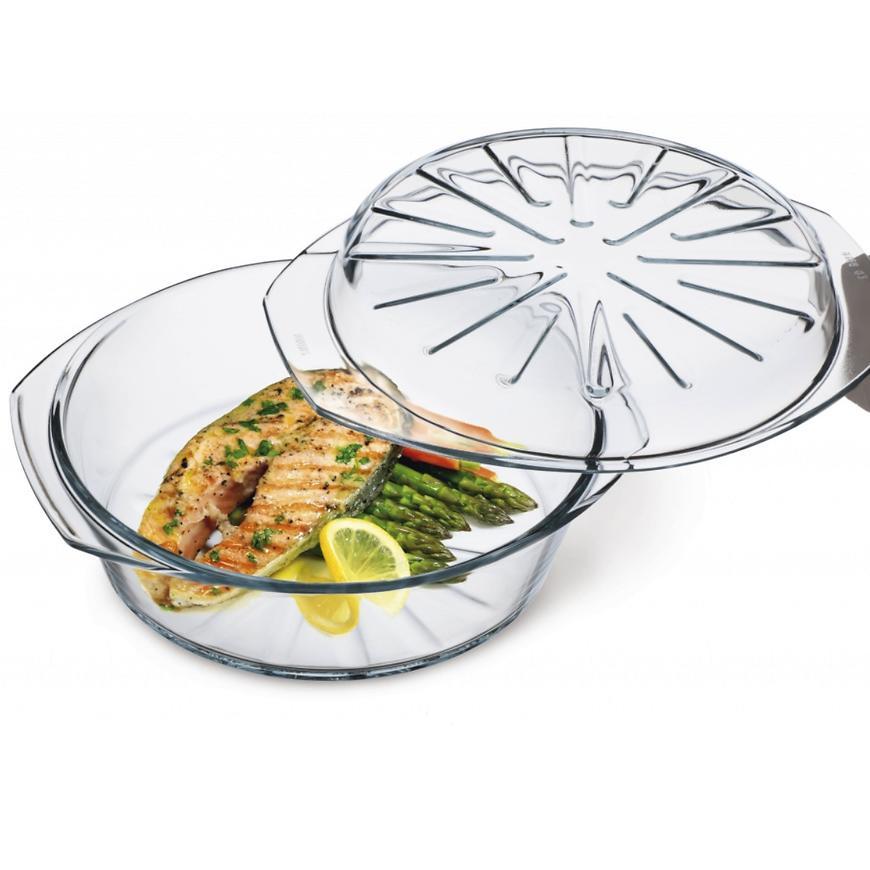 Simax nádobí kulaté s víkem 3,7l (2,5+1,2)