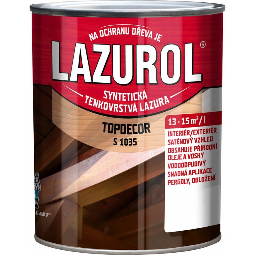Lazurol Topdecor višeň 2,5L