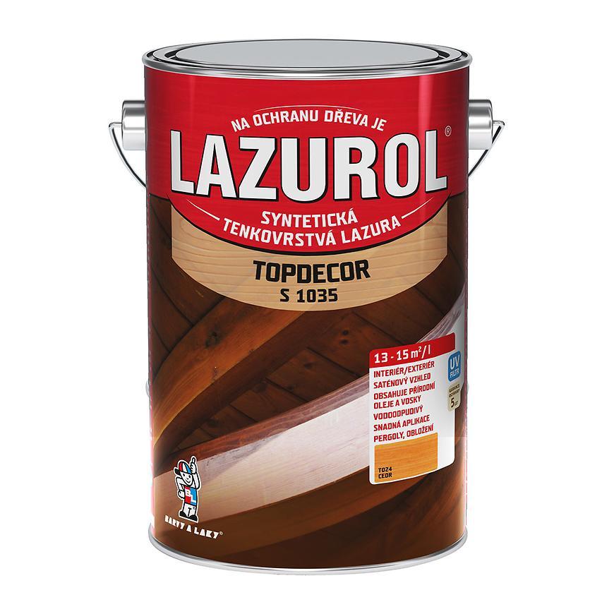 Lazurol Topdecor cedr 4,5L