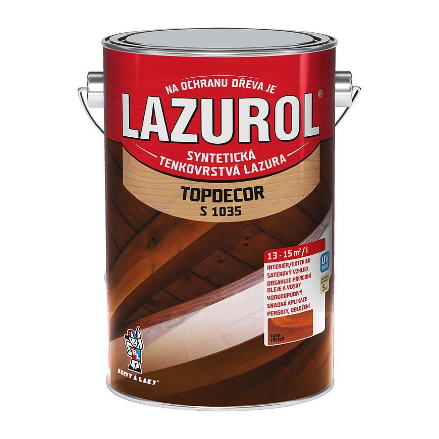 Lazurol Topdecor třešeň 4,5L