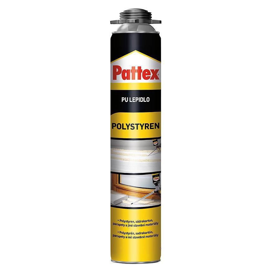 Montážní pěna Pattex pu lepidlo polystyren pistolová 750 ml