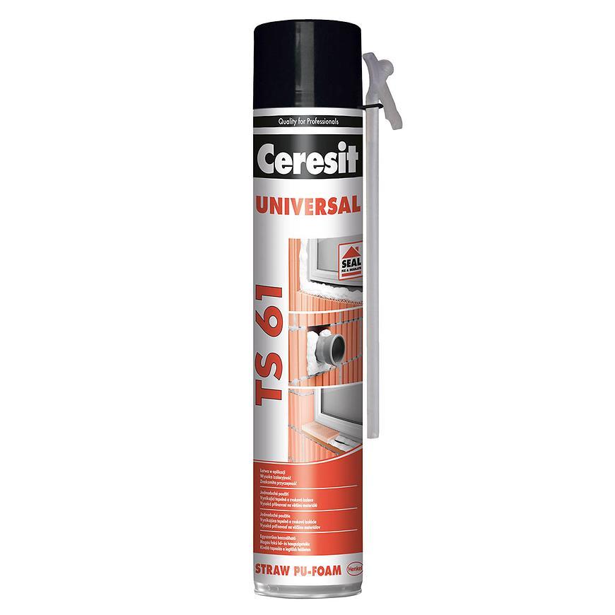 Montážní pěna Ceresit TS61 trubičková 750 ml