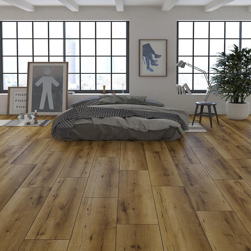Laminátová plovoucí podlaha Dub Fargo 8mm AC5 Elite+ 3D 53330