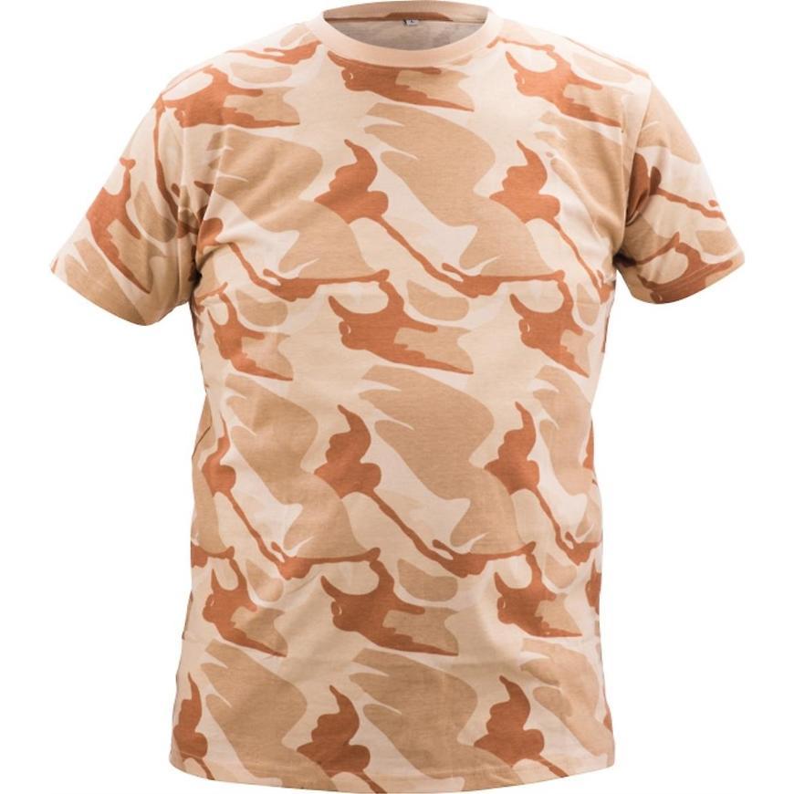 Crambe triko camouflage béžová 3xl