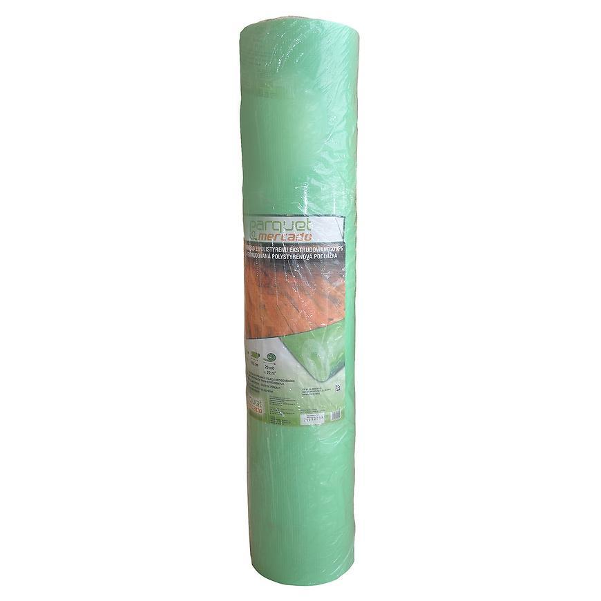 Podložka pod plovoucí podlahy  2 mmx1,1x11 bm zelená