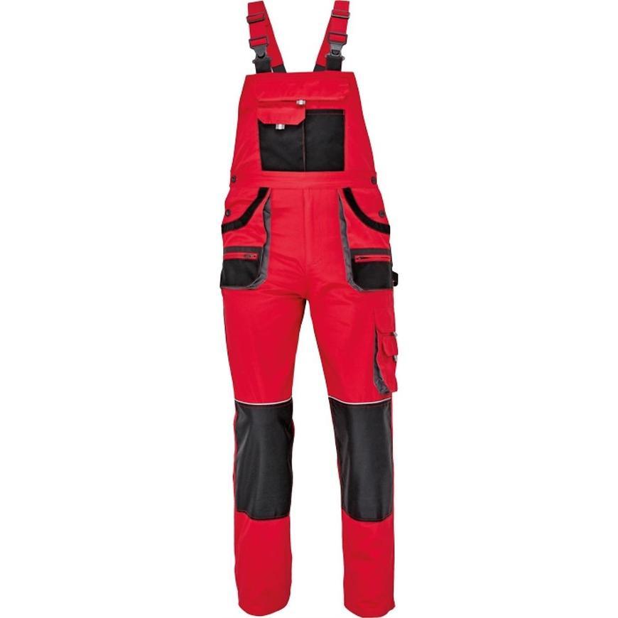 FF Carl be-01-004 kalhoty lacl černá/červená 56