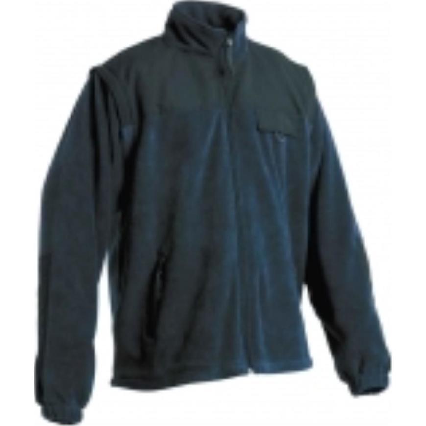 Randwik fleecová bunda modrá m