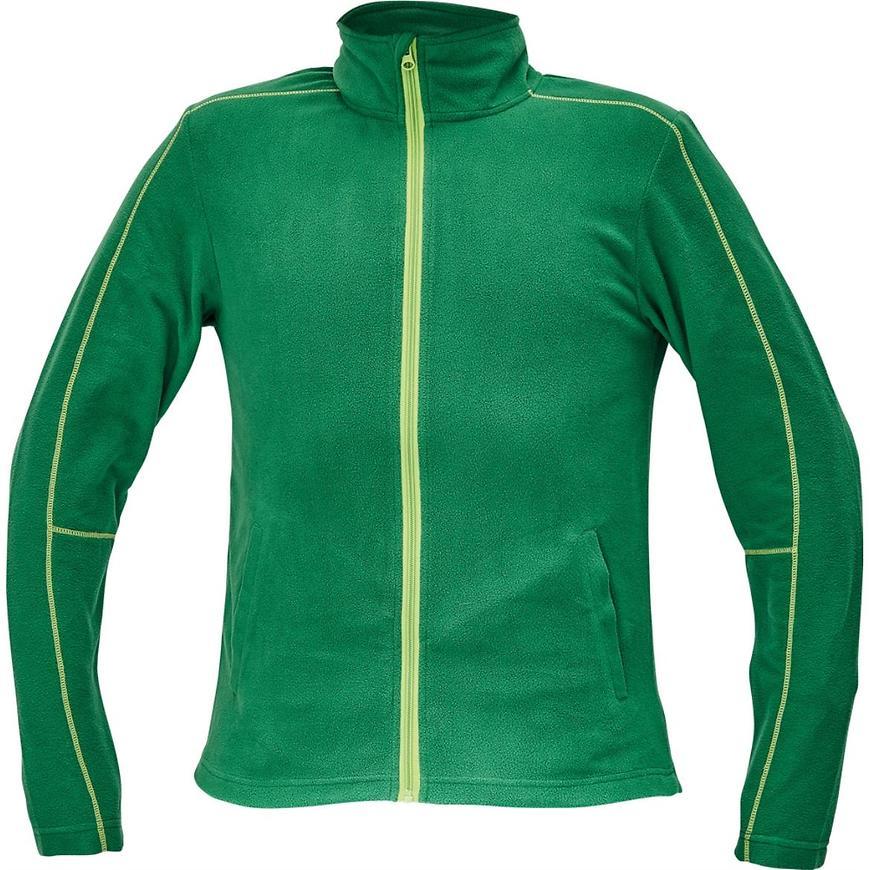 Westow fleece bunda zelená 3xl