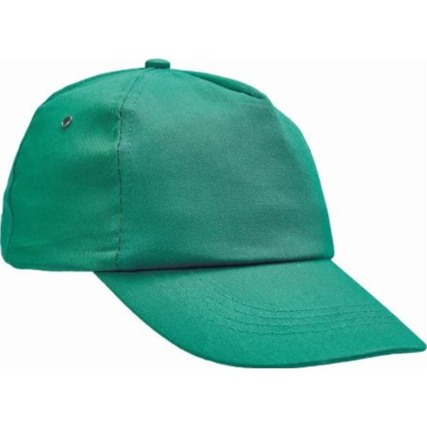 Čepice s kšiltem Leo baseballová čepice zelená