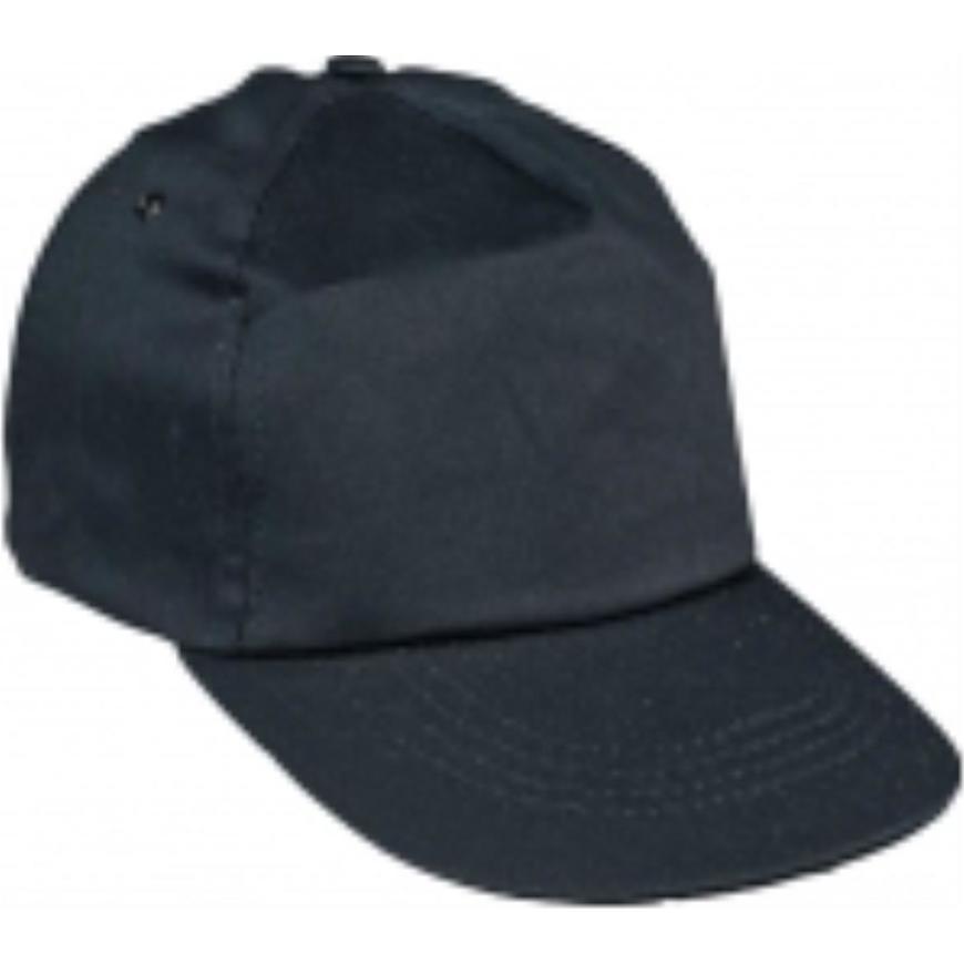 Čepice s kšiltem Leo baseballová čepice černá