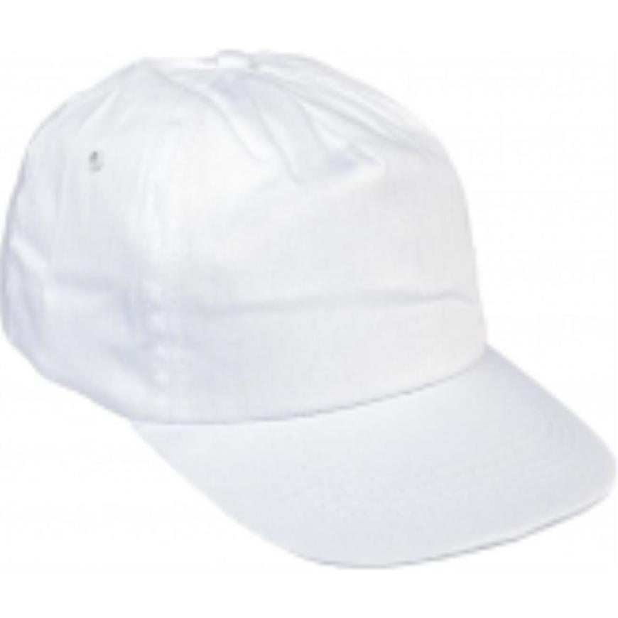 Čepice s kšiltem Leo baseballová čepice bílá