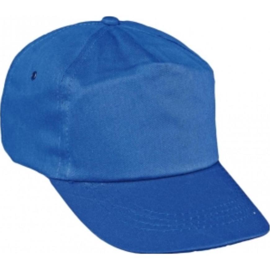 Čepice s kšiltem Leo baseballová čepice královská modrá