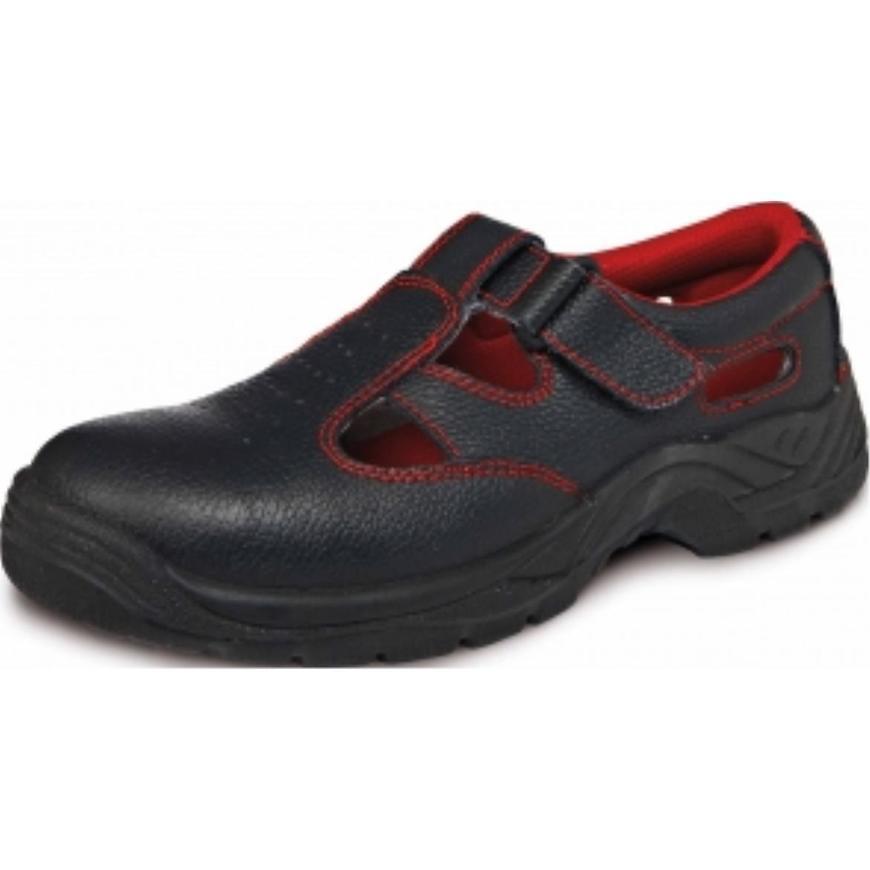 Bonn sc-01-001 s1 src sandál 45 černá