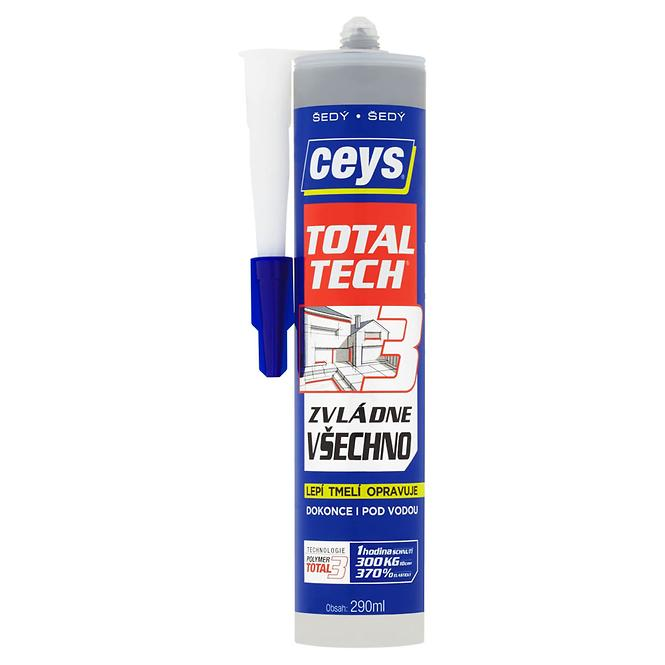 Ceys Total Tech šedý 290ml