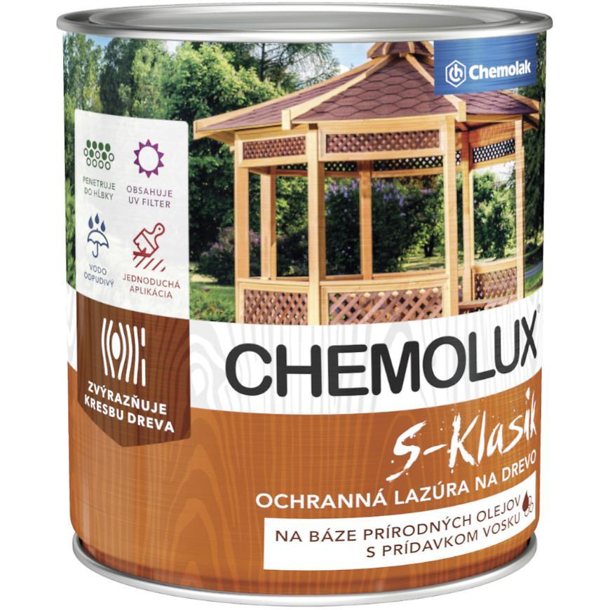 Chemolux S-Klasik Cerveny Smrek 2,5l