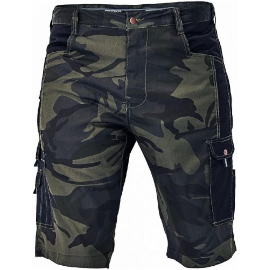 Crambe šortky camouflage 2XL