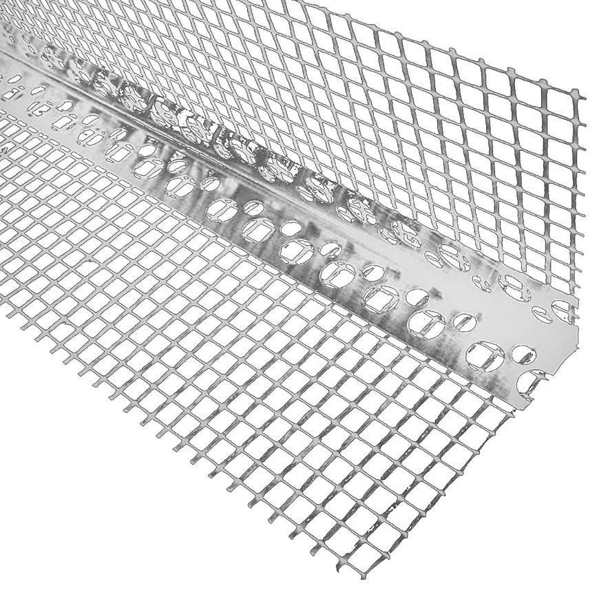 Rohová lišta hlin se síťkou 2,5m Pro