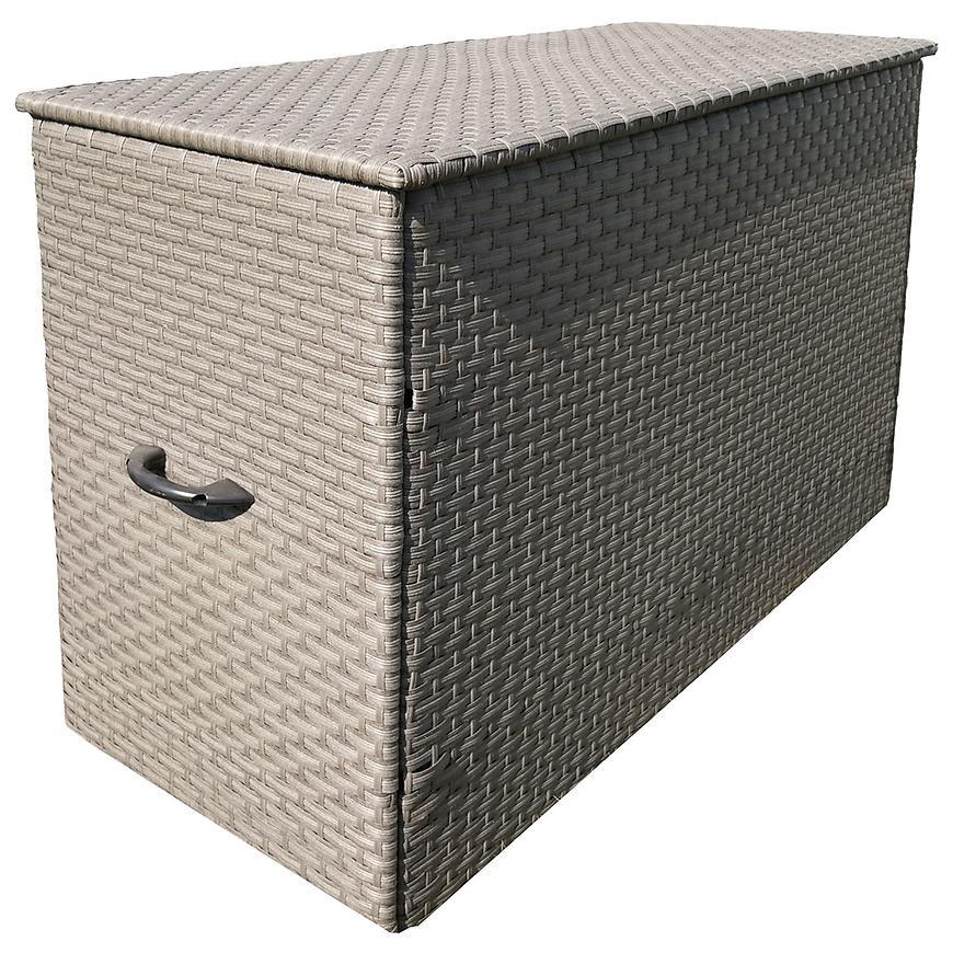 Uložny box technoratan šedá 140x60x92 cm