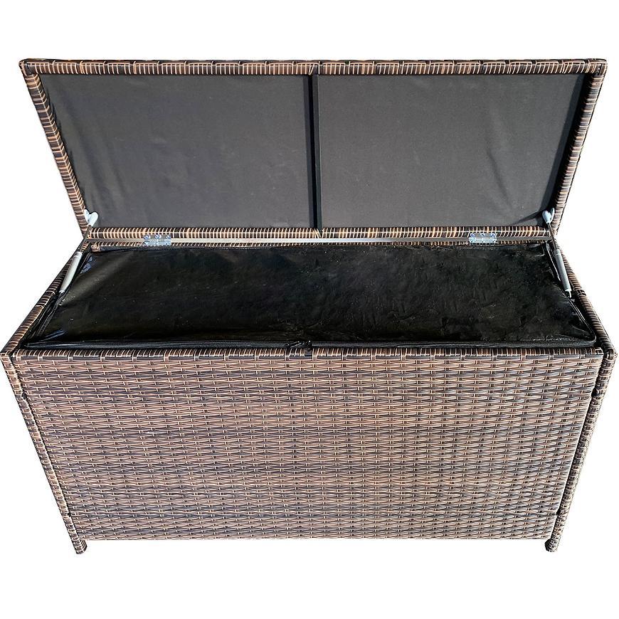 Uložny box technoratan hnědá 115x45x65cm