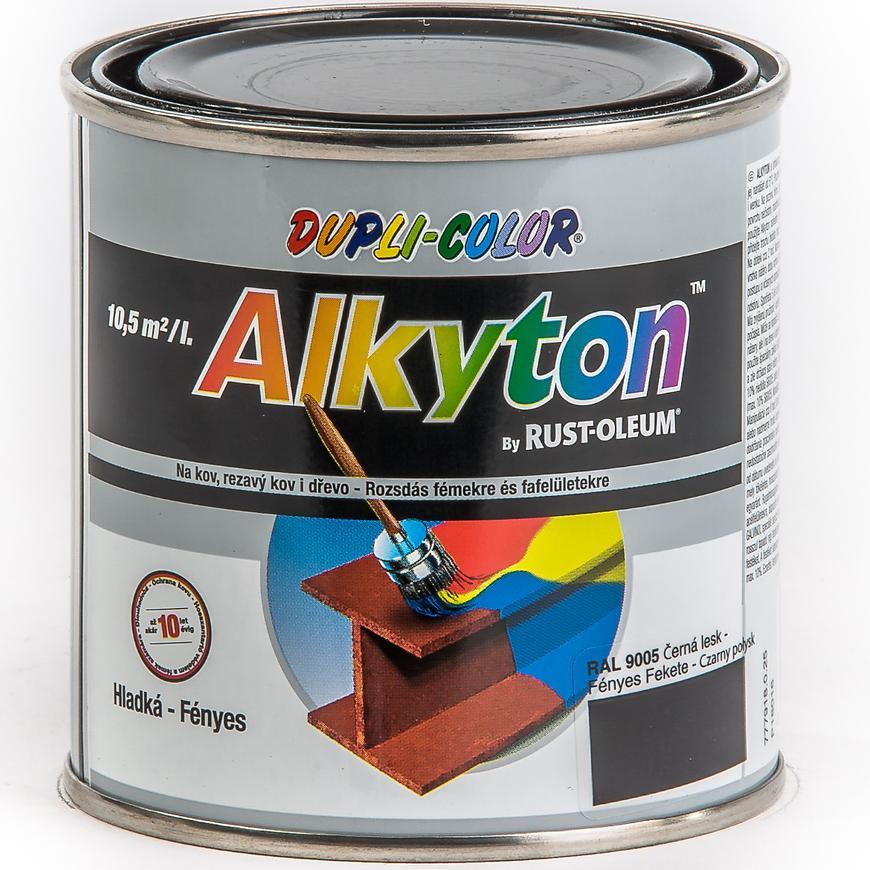 Alkyton ral9005 lesk 250ml