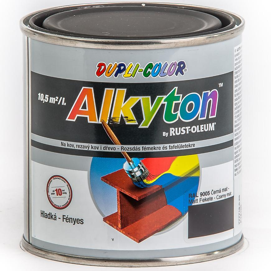 Alkyton ral9005 mat 250ml