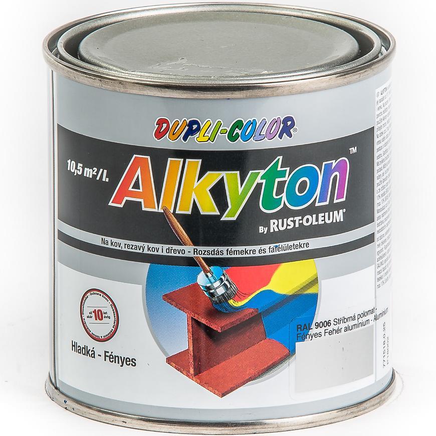 Alkyton ral9006 lesk 250ml