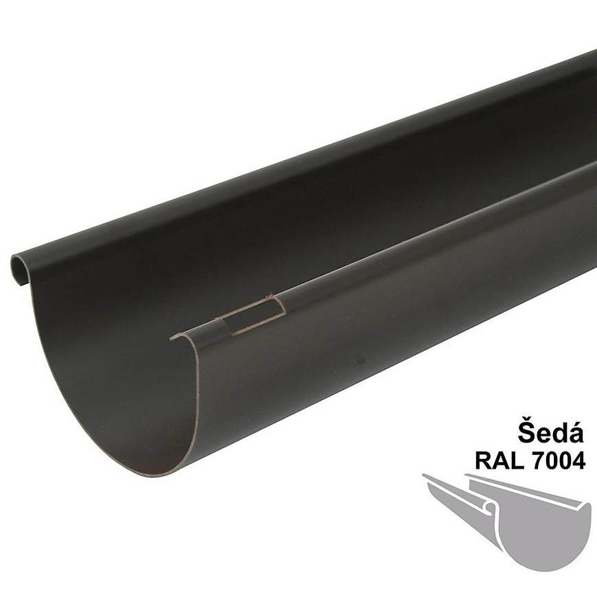 Okapový žlab rg 75 3 m šedá