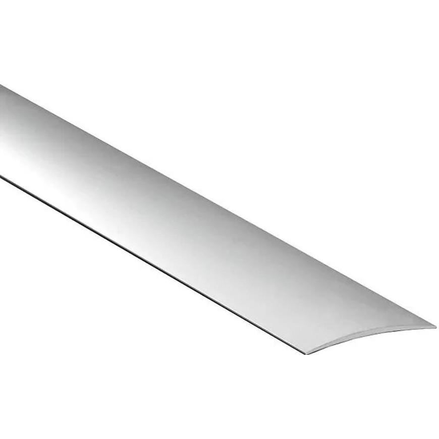 Krycí lišta obloučková samolepící LPO 60K 1,0 C-0 stříbrný