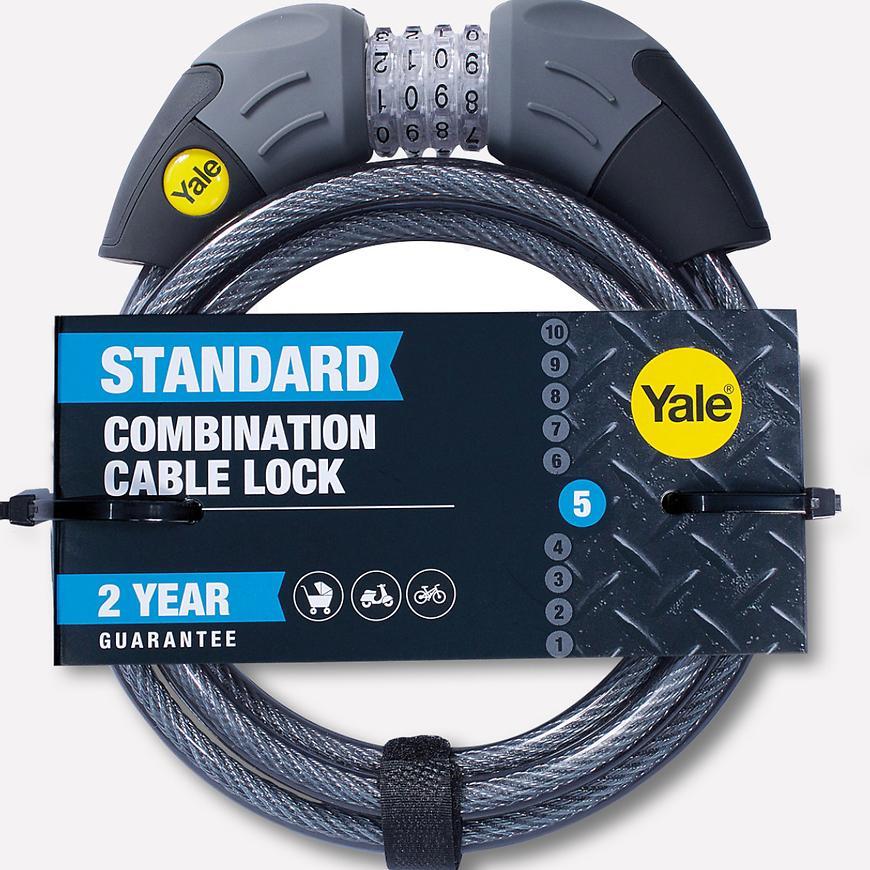 Yale cyklozámek kódový 1800mm