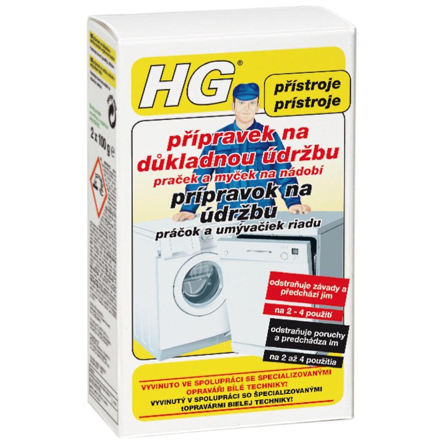 HG přípravok na údržbu praček 200ml