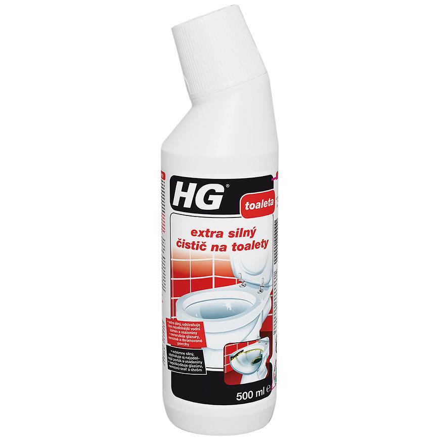 HG extra silný čistič na toalety 500ml