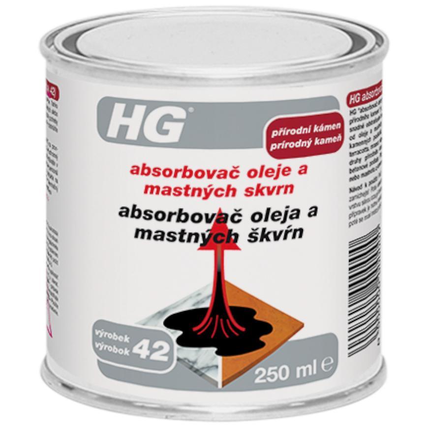 HG absorbovač olejových a mastných skvrn 250ml