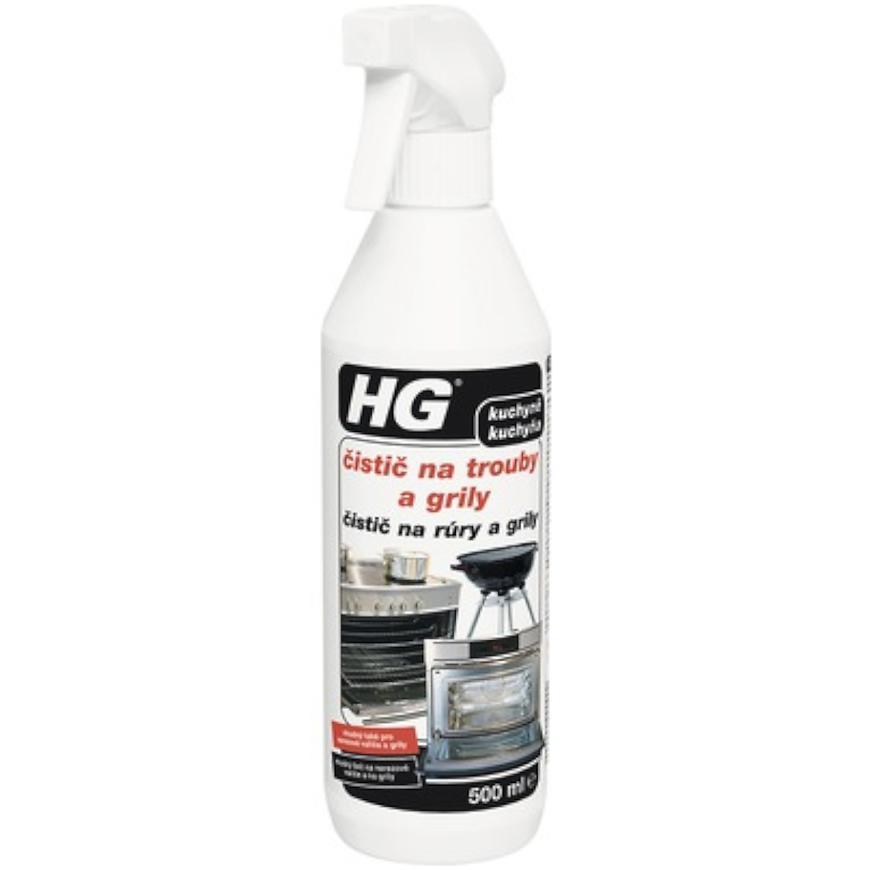 HG čistič na trouby a grily  500ml