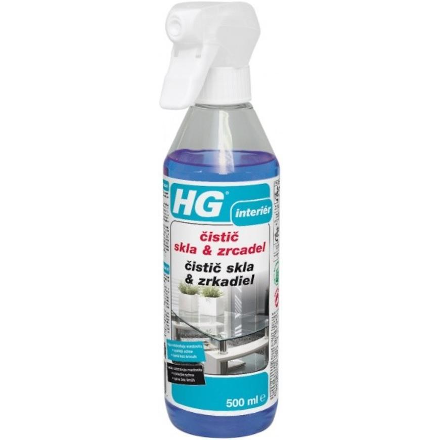 HG čistič skla & zrcadel 500ml
