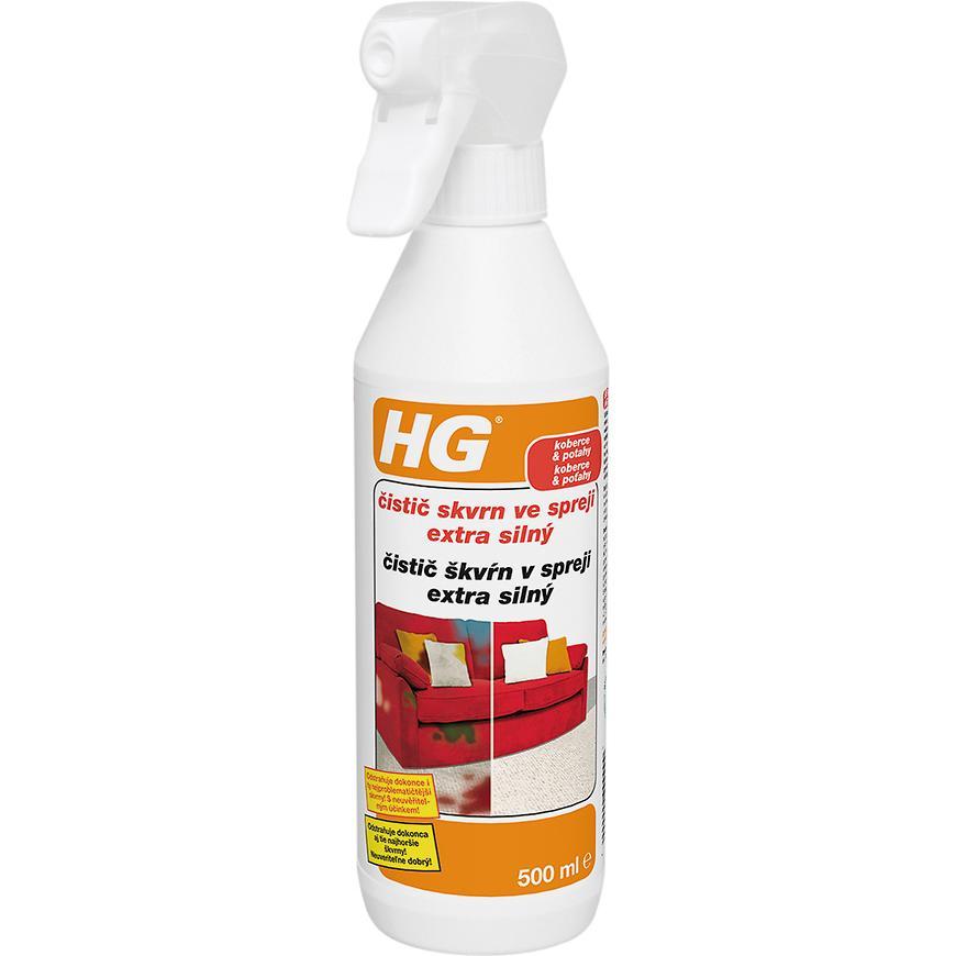 HG extra silný čistič skvrn ve spreji 500ml