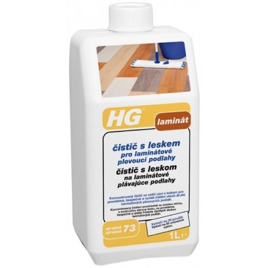 HG čistič s leskem pro laminátové plovoucí podlahy 1l