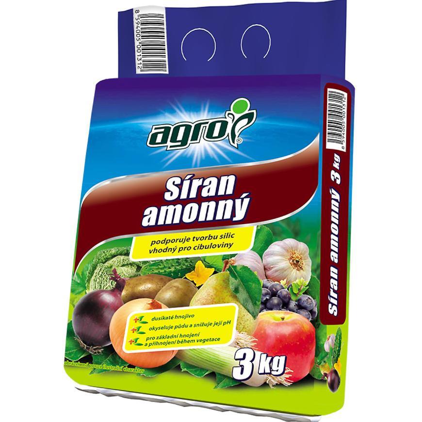 Dusíkaté hnojivo Agro, 3 kg