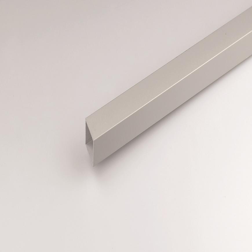 Profil Čtvercový ALU Stříbrný 15x15x1000