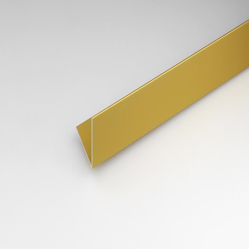 Rohový Profil  ALU Merc Zlatý 15x15x1000