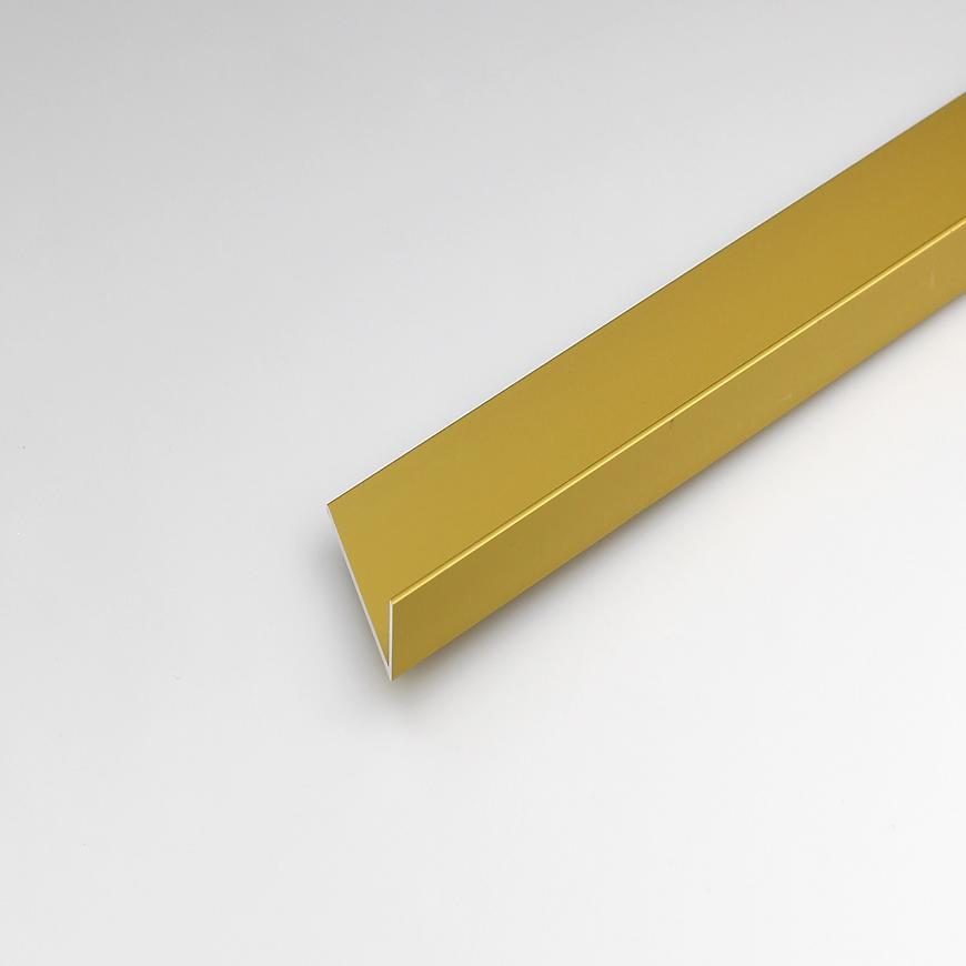 Rohový Profil  ALU Merc Zlatý 30x15x1000