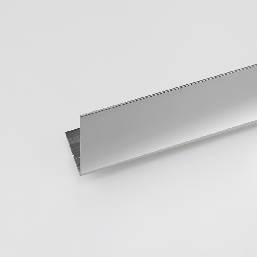 Rohový Profil  ALU Chrom 10x10x1000